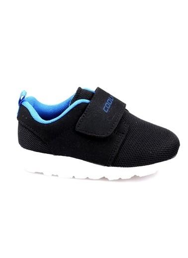 Cool Erkek Çocuk Bebe Siyah Günlük Spor Ayakkabı Siyah